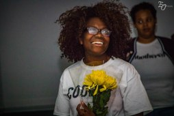Myya Carson - Awesome Event Planner with her flowers