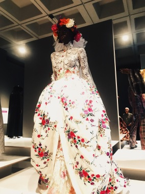 One of my favorite gowns from the exhibit